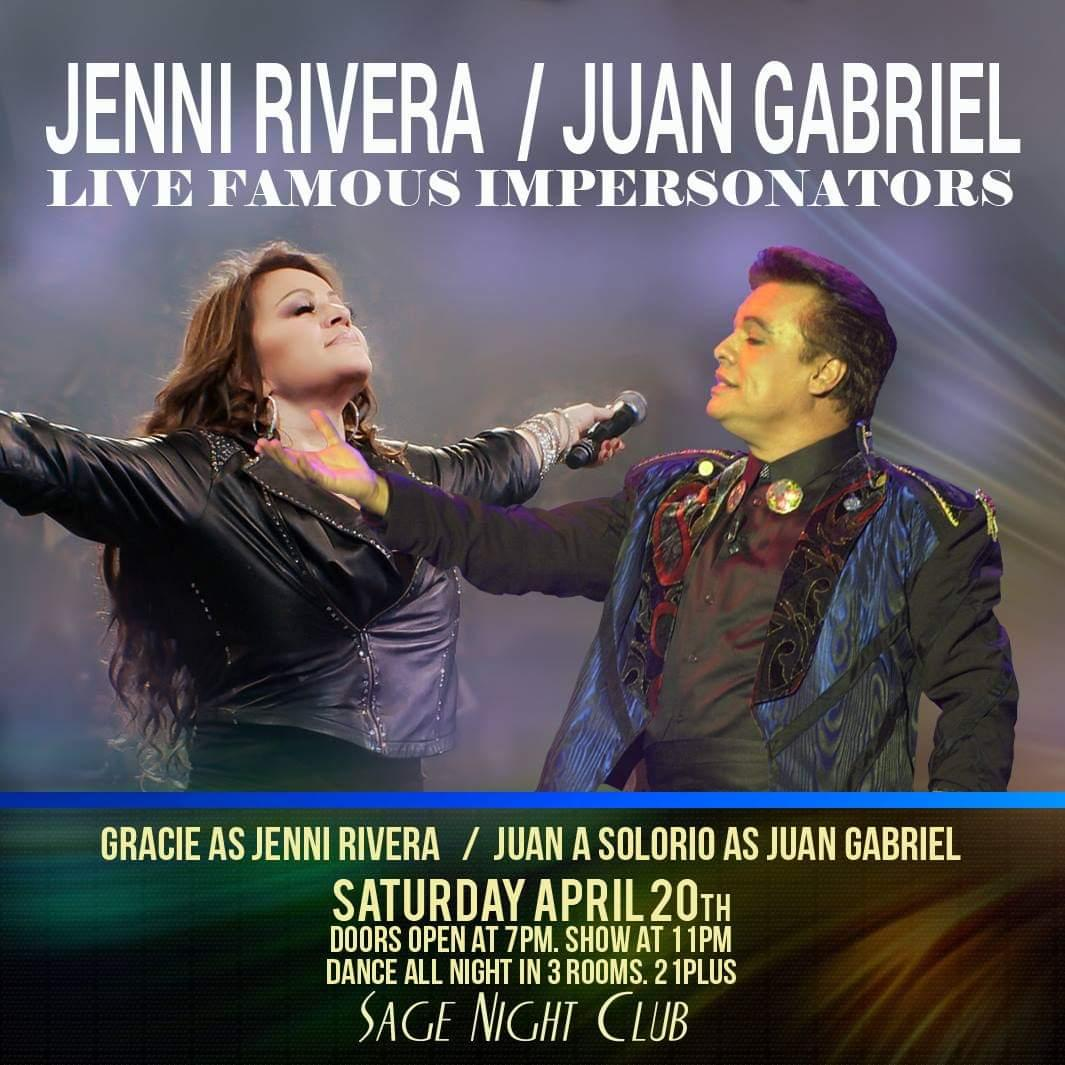 Ballet Move Brewery Beer Ballet Live Band Cash: Jenni Rivera / Juan Gabriel Tribute Performers